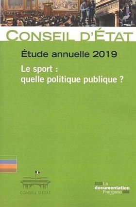 Étude annuelle 2019 - Le sport : quelle politique publique ?