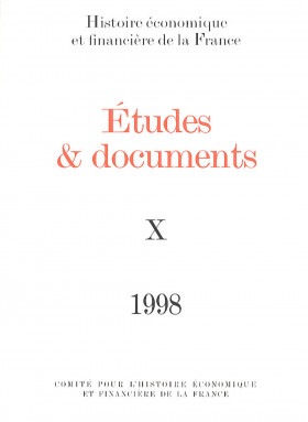 Études et documents - 1998