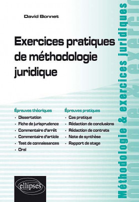 Exercices pratiques de méthodologie juridique