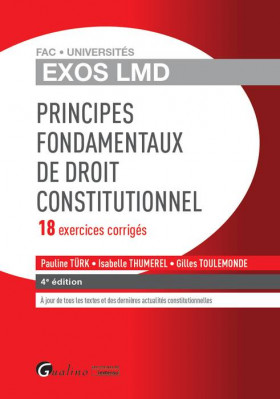 Exos LMD - Principes fondamentaux de droit constitutionnel