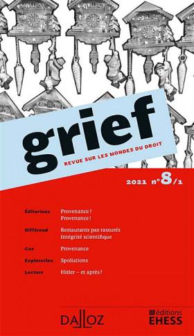 Grief, 2021 N°8/1