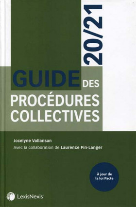 Guide des procédures collectives 2020-2021