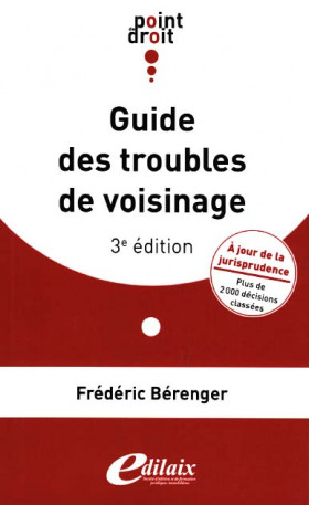 Guide des troubles de voisinage