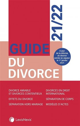 Guide du divorce 2021-2022
