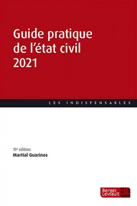 Guide pratique de l'état civil 2021