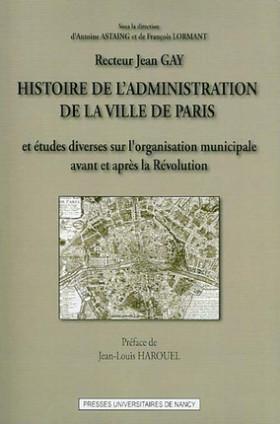 Histoire de l'administration de la ville de Paris