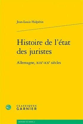 Histoire de l'état des juristes