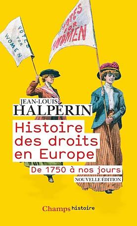 Histoire des droits en Europe