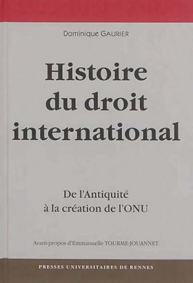 Histoire du droit international