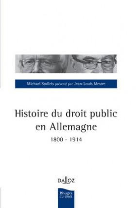 Histoire du droit public en Allemagne