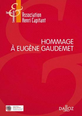 Hommage à Eugène Gaudemet