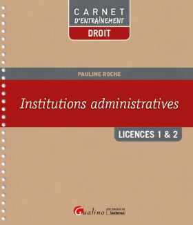 Institutions administratives L1/L2
