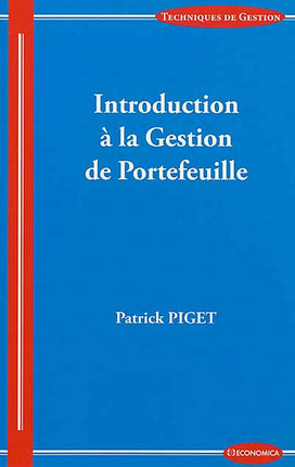 Introduction à la gestion de portefeuille