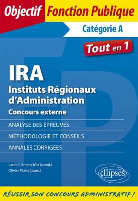 IRA - Instituts Régionaux d'Administration : concours externe