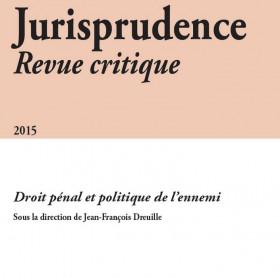 Jurisprudence - Revue critique 2015