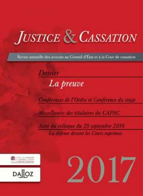 Justice & cassation 2017