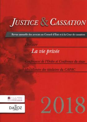 Justice & cassation 2018