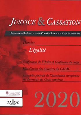 Justice & cassation 2020