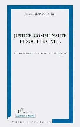 Justice, communauté et société civile