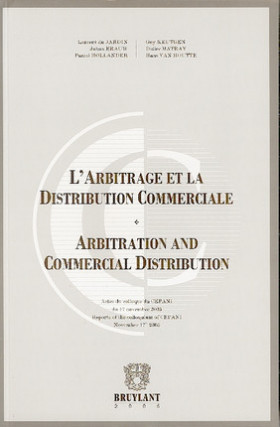 L'arbitrage et la distribution commerciale