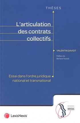 L'articulation des contrats collectifs