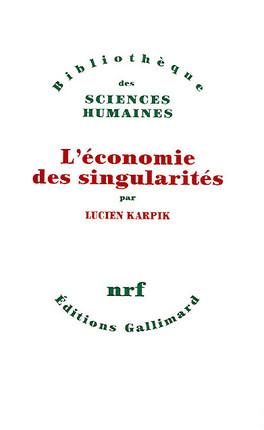 L'économie des singularités