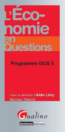 L'économie en questions - Programme DCG 5