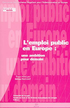 L'emploi public en Europe