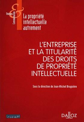 L'entreprise et la titularité des droits de propriété intellectuelle