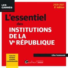L'essentiel des institutions de la Ve République