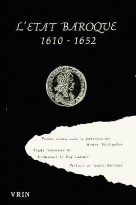 L'Etat baroque 1610-1652