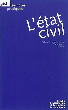 L'état civil