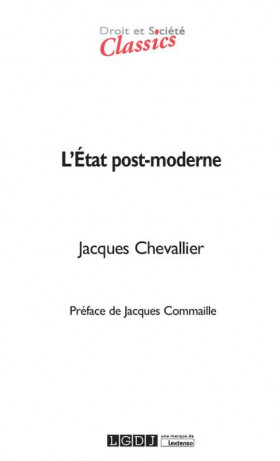 L'État post-moderne