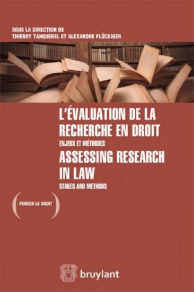 L'évaluation de la recherche en droit
