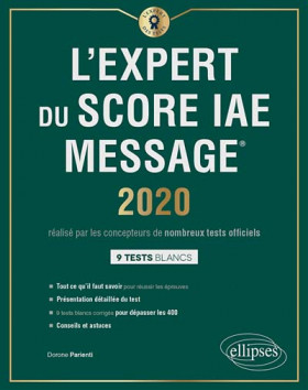 L'expert du Score IAE Message® 2020