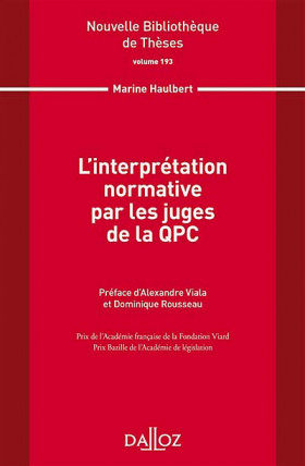 L'interprétation normative par les juges de la QPC