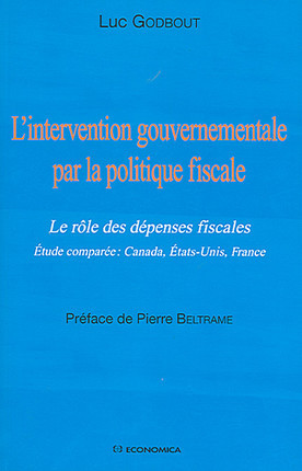 L'intervention gouvernementale par la politique fiscale