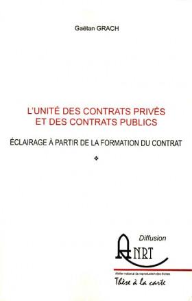 L'unité des contrats privés et des contrats publics