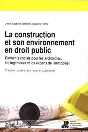 La construction et son environnement en droit public