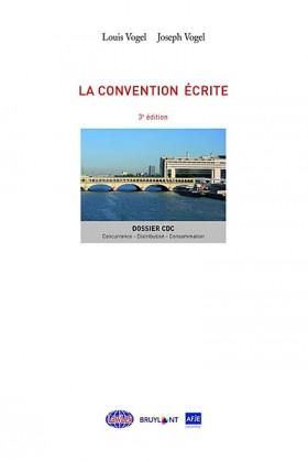 La convention écrite