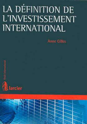 La définition de l'investissement international