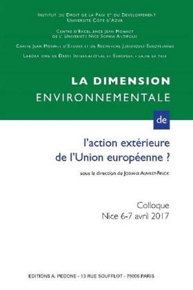 La dimension environnementale de l'action extérieure de l'Union européenne ?