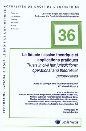 La fiducie : assise théorique et applications pratiques