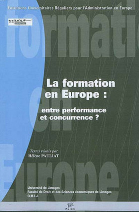 La formation en Europe : entre performance et concurrence ?