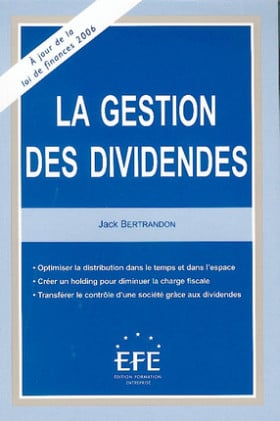 La gestion des dividendes