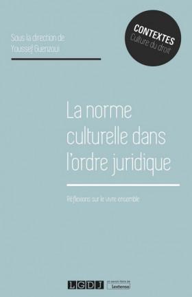La norme culturelle dans l'ordre juridique