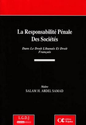 La responsabilité pénale des sociétés