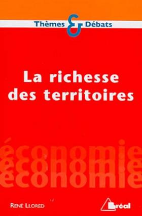 La richesse des territoires