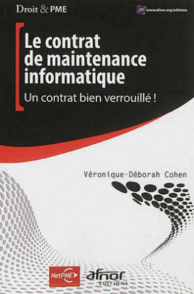 Le contrat de maintenance informatique