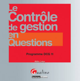 Le contrôle de gestion en questions - Programme DCG 11
